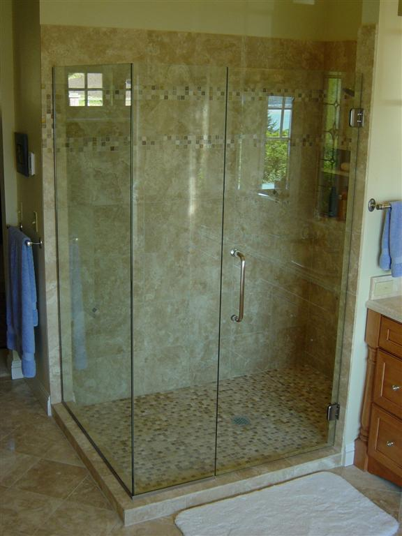 install glass frameless tile doors for watch installation shower youtube
